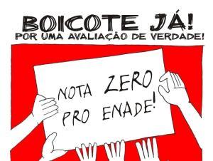 boicote ao enade