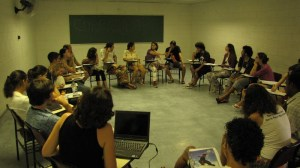 Grupo de discussão durante o COBRECOS 2010
